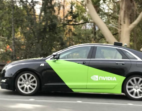 nvidia self driving