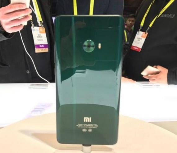 Xiaomi Mi Note 2 green