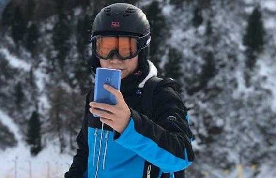 Xiaomi mi note2 blue coral