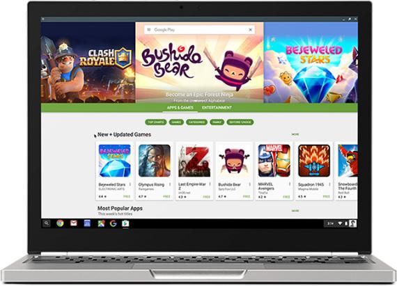 Chromebooks: Αποκτούν πρόσβαση σε Google Play Store
