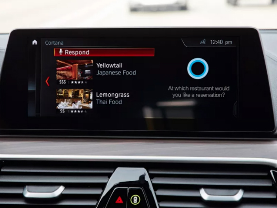 nissan bmw cortana