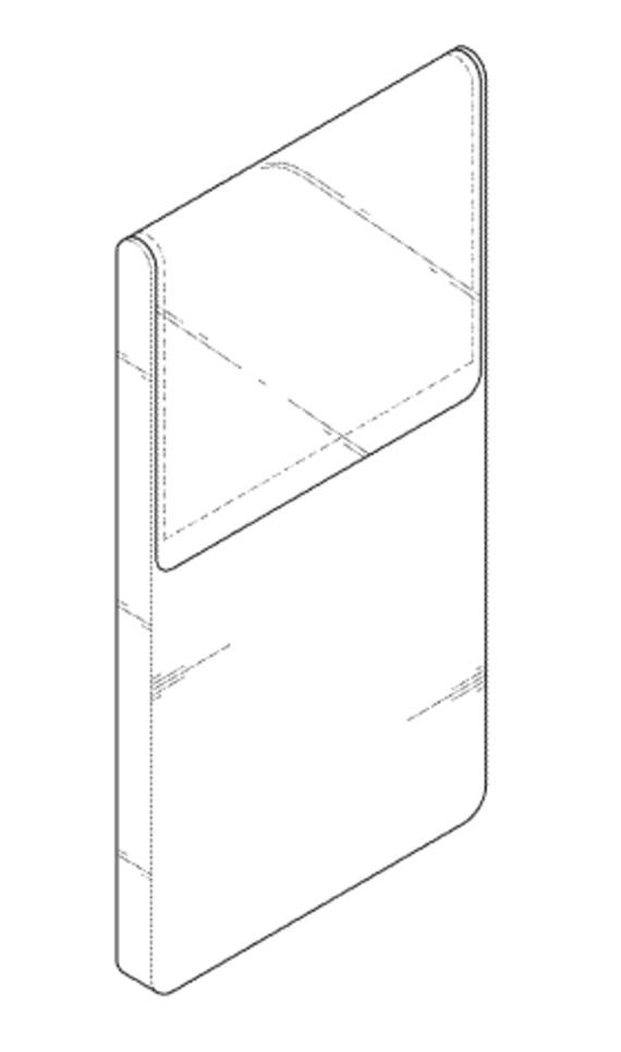 lg foldable smartphone patent