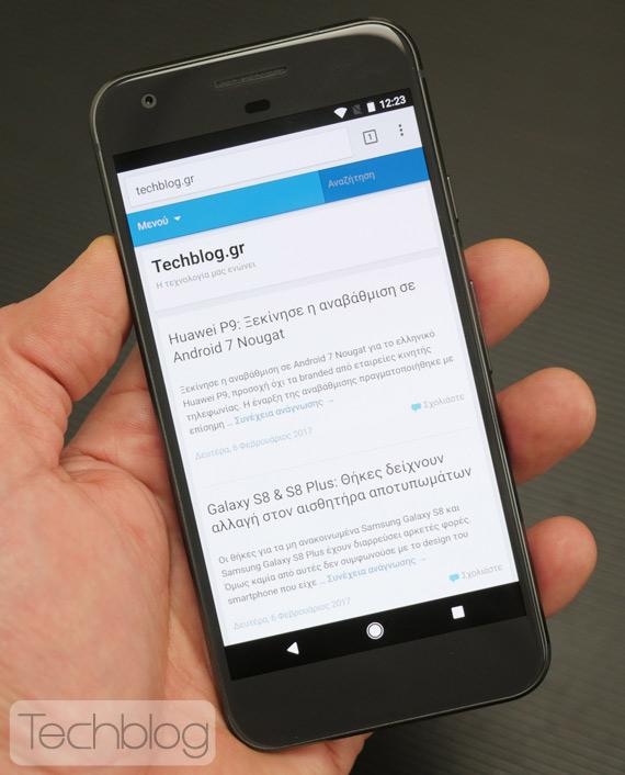 Google Pixel hands-on TechblogTV
