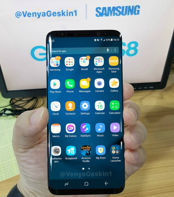 Samsung Galaxy S8 leak