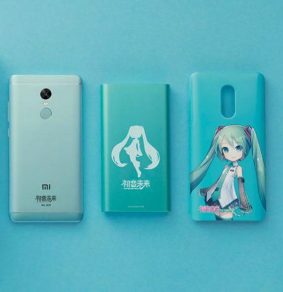 Xiaomi-Redmi Note 4X Hatsune Miku