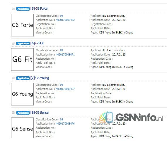 lg g6 versions