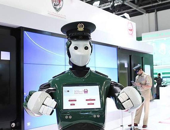 Dubai Police robot