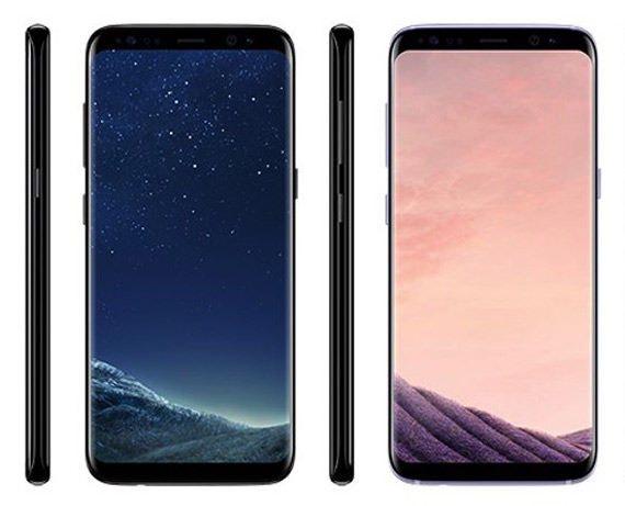 Galaxy S8 and S8+ renders