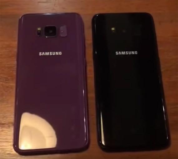 Galaxy S8 violet color