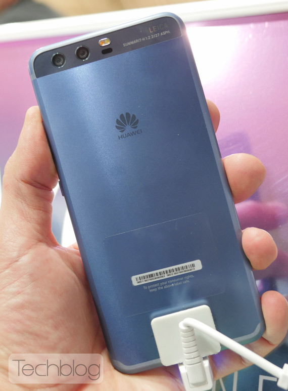 Huawei P10 blue hands-on