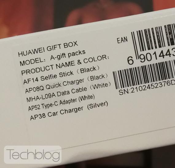 Huawei P10 gift box