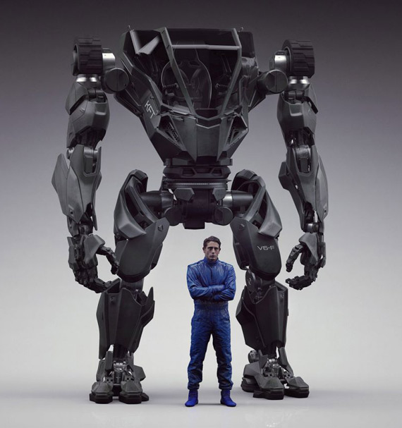 Method 2 manned bipedal robot