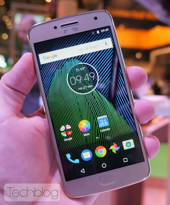 Moto G5 Plus hands-on
