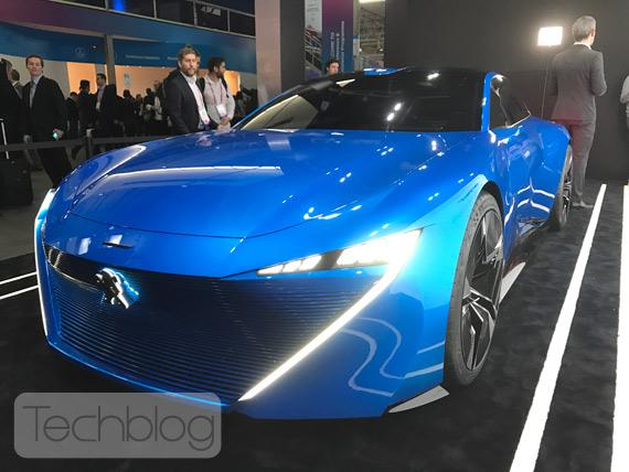 Peugeot Instinct Concept MWC 2017