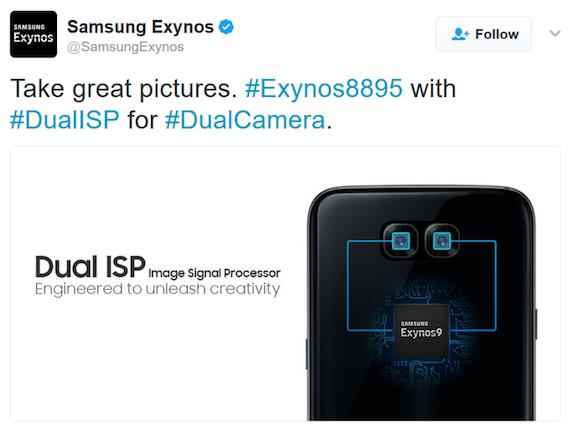 Samsung Exynos 9 Dual Camera