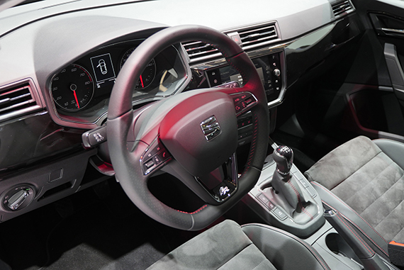 Seat Ibiza 2017 interior GimSwiss 2017