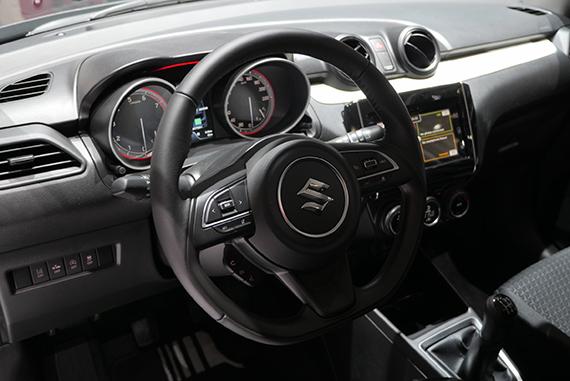 Suzuki Swift 2017 interior GimSwiss 2017 Geneve