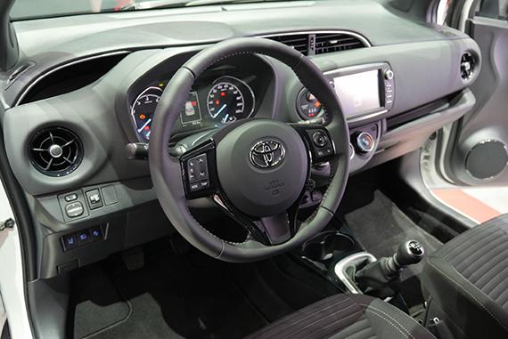 Toyota Yaris 2017 interior GimSwiss 2017 Geneve
