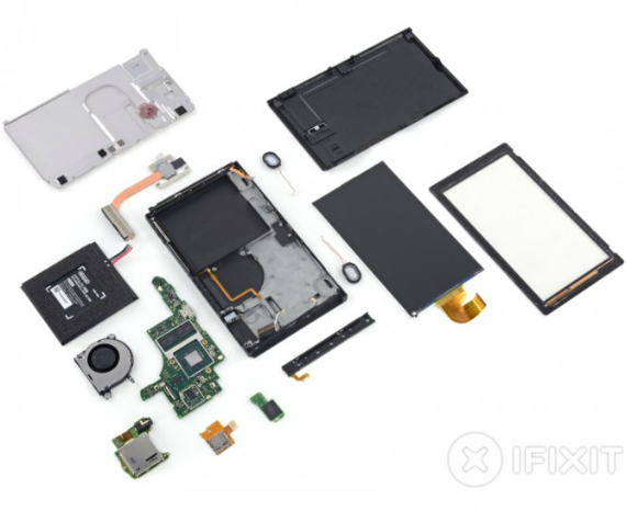 nintendo switch teardown