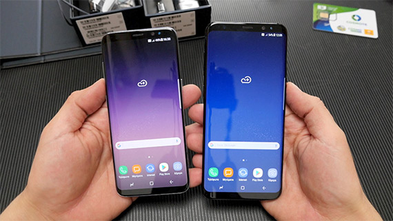 Galaxy S8 and S8+ unboxing Techblog