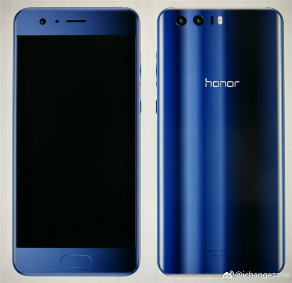 Honor 9 render