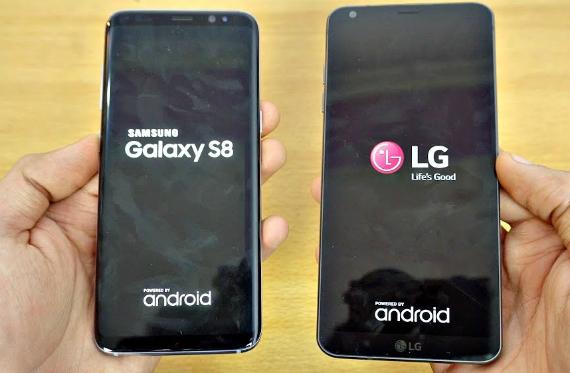 galaxy s8 vs lg g6