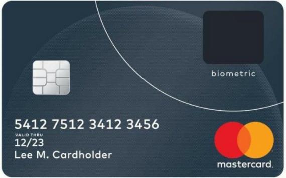 Η Mastercard κυκλοφόρησε κάρτες με αισθητήρα αποτυπωμάτων