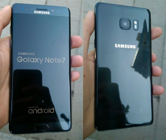Galaxy Note 7 refurbished leaked
