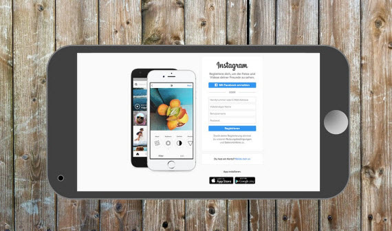 Instagram new website