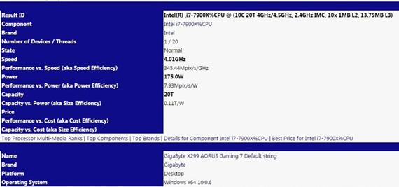 Intel i9-7900X