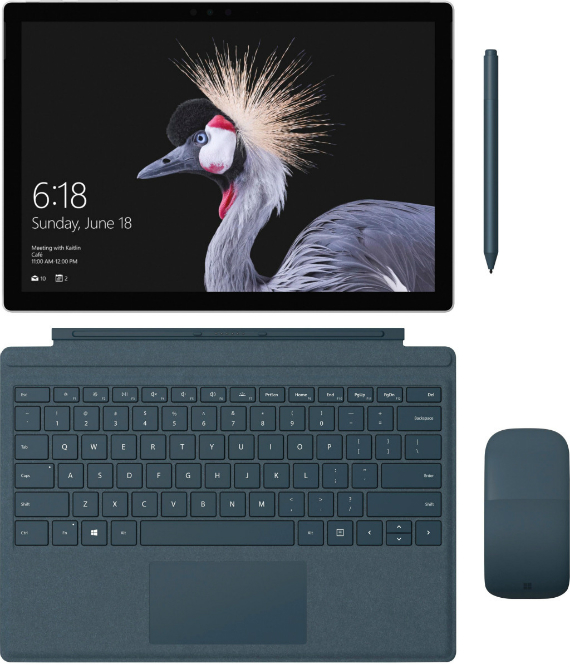 Microsoft Surface Pro renders