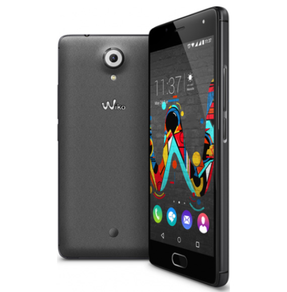 Wiko-UFEEL-Space-grey