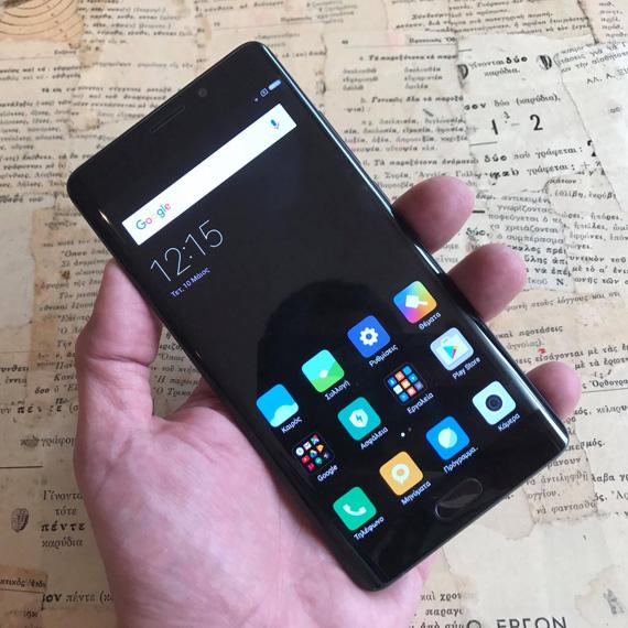 Xiaomi Mi Note 2 hands-on Techblog