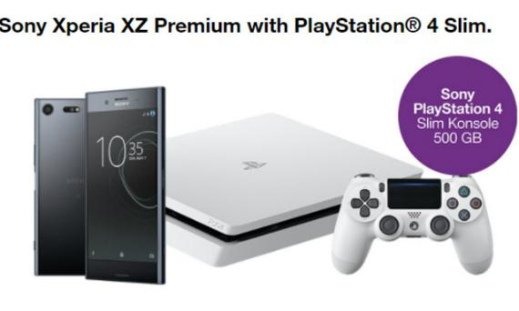 Xperia XZ Premium ps4 slim
