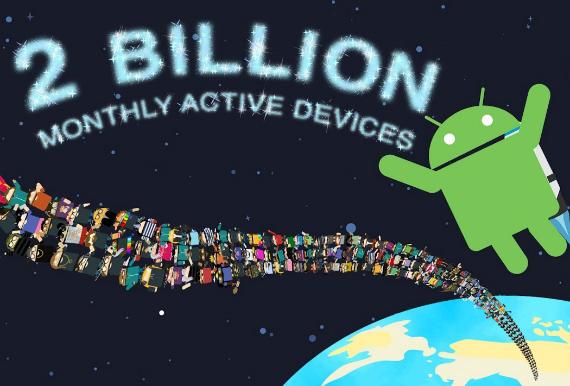 android 2 billion