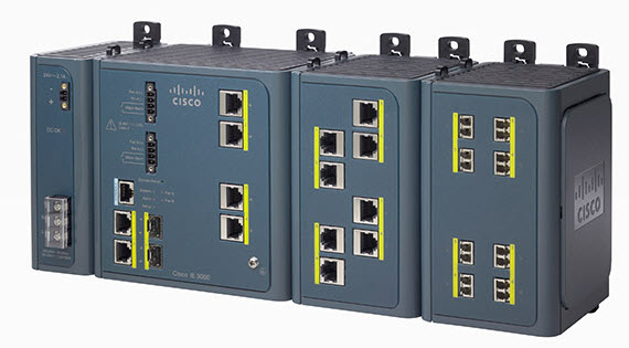 cisco industrial 3000 switches