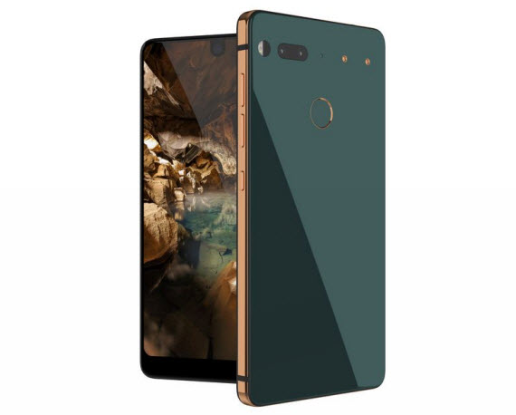 essential phone ocean depths