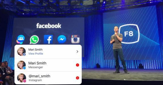 Facebook, Messenger και Instagram ενώνονται με κοινές ειδοποιήσεις