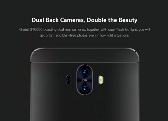 gretel gt6000 dual camera