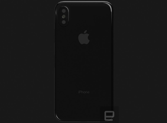 iPhone 8 render