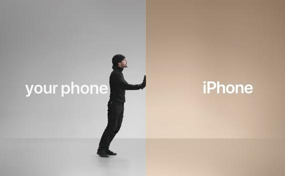 iphone ad