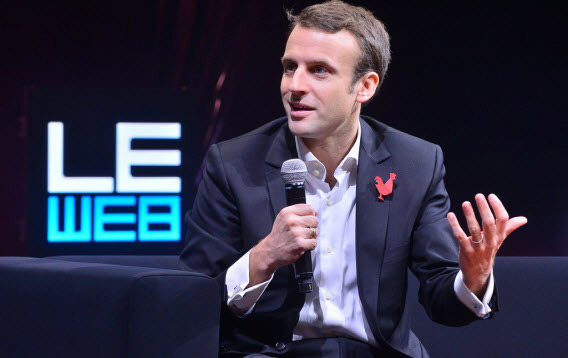 Macron FR email hacked