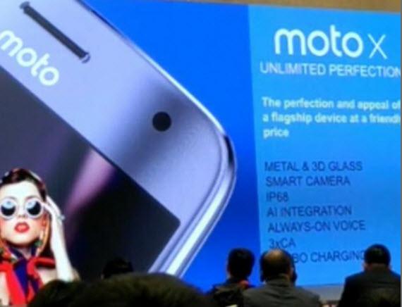 moto x 4 leaked presentation
