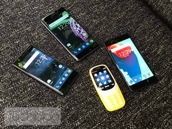 new Nokia Android family 2017