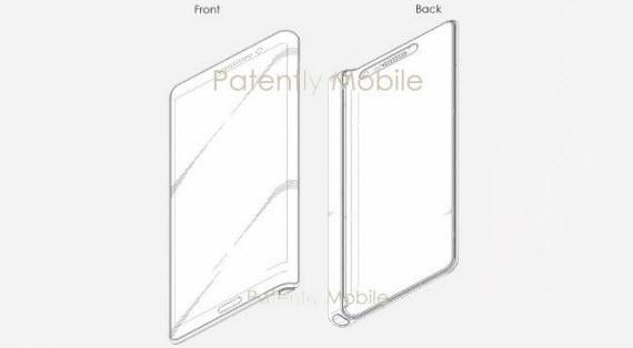 samsung galaxy s9 patent design
