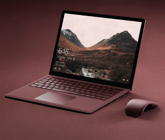 surface laptop official