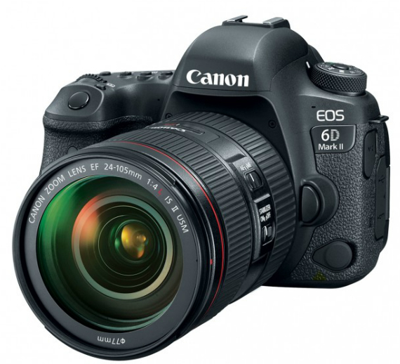 Canon EOS 6D Mark II official