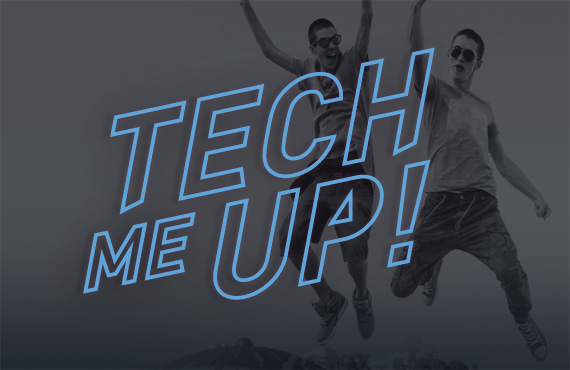 Germanos Tech me up logo