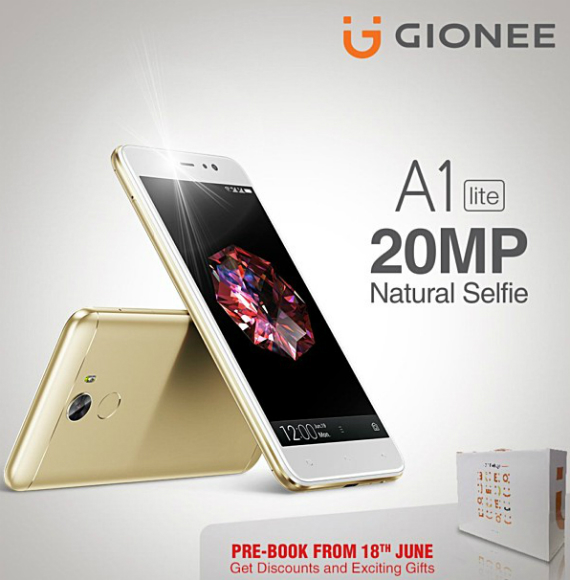 Gionee A1 lite official