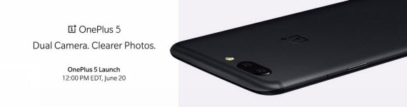 One Plus 5 render